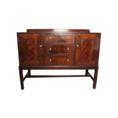 Heal's 1930s Mahogany Sideboard vintage antique mid century in Antiques, Antique Furniture, Sideboards, 20th Century | eBay