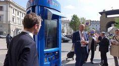 Firenze, ecco la prima cabina telefonica hi-tech per device e internet Superman, Internet, Tech, Totem, Phone, Firenze, Cabins, Tecnologia, Technology