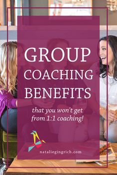 Do you have a business coach? There's a big difference between group coaching and one-on-one coaching, and each is a valuable part of business growth. Investing in a business coach is a big decision to make as an entrepreneur, but it can help grow your business by leaps and bounds. From networking to getting accountability on your business goals, here are some reasons you should consider group coaching for your small business. via @nataliegingrichPM