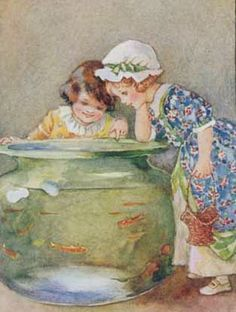 Art Through The Ages, Fish Tales, Woodland Creatures, Vintage Children's Books, Illustrations And Posters, Book Illustration, Medium Art, Vintage Images, Illustrators