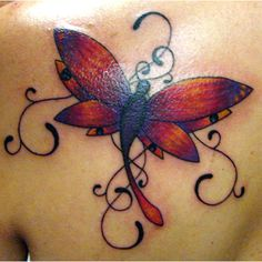 dragonfly tattoos | 25 Undeniably Dragonfly Tattoos Pictures | WebdesignLayer