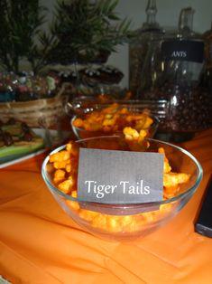 Jungle Safari Birthday Party; Cheetos