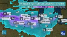 Winter Storm Bella Dumps Up to 16 Inches of Snow in Chicago Suburbs; Record November Snowstorm in Moline, Illinois | The Weather Channel