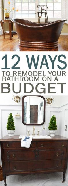 Bathroom Remodel, How To Remodel Your Bathroom, Bathroom Remodeling Hacks, Bathroom  Remodeling TIps