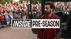 Inside Pre-Season | Behind the scenes from Mo Salah's Liverpool debut | ...