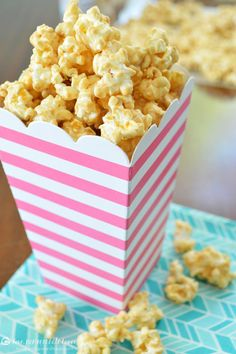 White Chocolate Biscoff Popcorn - Love, Pomegranate House