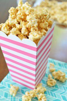 White Chocolate Biscoff Popcorn - Love, Pomegranate House