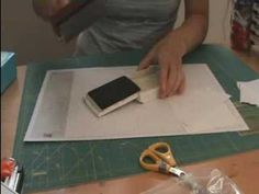 Faux edge using a brayer.  Dress up a card front.