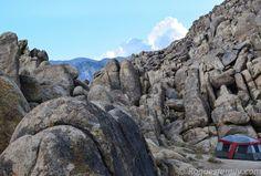 paysage, camping, tente, fiction ou réalité, la Californie...