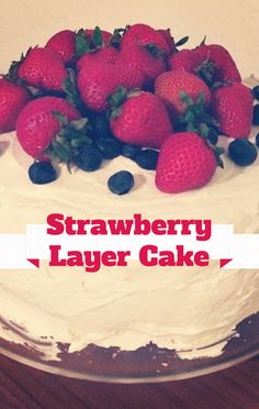 Carla Hall whipped up a Strawberry Lemon Layer Cake recipe on The Chew, the perfect delicious cake for your dessert this evening. http://www.foodus.com/the-chew-carla-hall-strawberry-lemon-layer-cake-recipe/