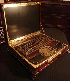 Steampunk laptop maker ready to take preorders