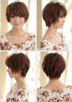 maybe this cut would make the awkward stage of growing my hair out less awkward?
