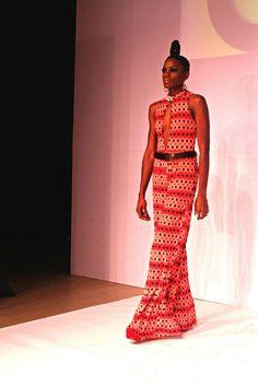 African Prints in Fashion: AFWNY: Farai Simoyi