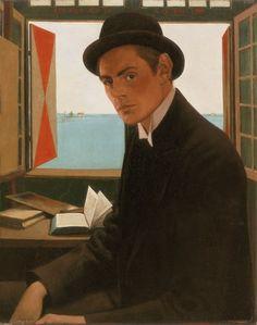 Theo Molkenboer (schilder), zelfportret, 1896