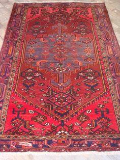 Tapete Artesanal Rústico Tribal Iran Bakthiar 400 pontos 2,18 x 1,35 = 2,94 m² código 300-06016 R$ 2.646,00 a peça em 06x ou R$ 2.487,00 a peça à vista .