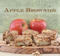 Apple Brownies.