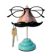 Mustache Eyeglasses Holder
