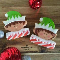 Cherry On Top Sweets:  Christmas.   Elf.  Elves.