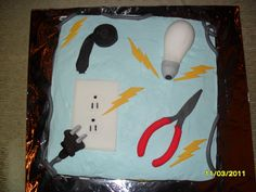 electrician's cake