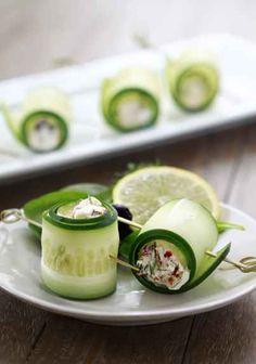 Cucumber Yogurt Herb Roll