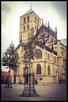 Münster auf den 2. Blick : Sankt-Paulus-Dom, #Münster. #Germany