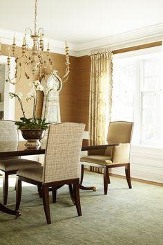 Interior Design Ideas: Dining Room - Home Bunch - An Interior Design & Luxury Homes Blog  **moldings**