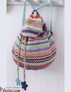 DIY Crochet Backpack                                                                                                                                                                                 More