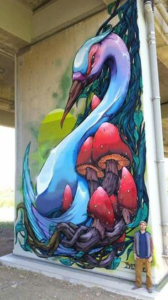 Street Art is a completely popular form of art that is spreading speedily every greater than the world. You can find it upon buildings, sidewalks, … Graffiti Wall Art, Murals Street Art, Mural Wall Art, Street Art Graffiti, Urban Street Art, Deco Originale, Amazing Street Art, City Art, Street Artists