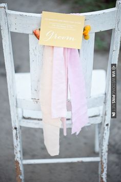 groom chair sign   VIA #WEDDINGPINS.NET
