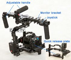 The Complete CAME-7800 Camera Gimbal Package is Now Under $1,400, Save More for a Limited Time