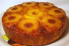 Quer aprender fazer uma receita deliciosa de bolo ananás caramelizado? Vou te ensinar com um passo a passo bem simples de fazer. Receita de Bolo Ananás