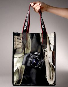 Brilliant #packaging by Canon. #bag