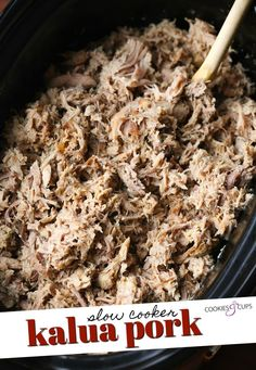 Slow Cooker Pork, Slow Cooker Recipes, Crockpot Recipes, Slower Cooker, Kalua Pork, Crockpot Dishes, Pork Dishes, Weird Food, Crazy Food