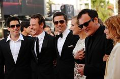 NO pretenses in that big grin! He was thrilled to be there & he never tries to hide it, SO REFRESHING!!!!!  Inglourious Basterds Premiere - 2009 Cannes Film Festival - Zimbio