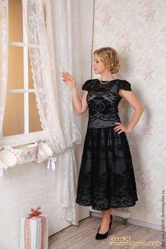 Crochet Stitches, Knit Crochet, Wedding Dresses Plus Size, Formal Dresses, Fillet Crochet, Double Crochet, Dress Patterns, Knit Dress, Flower Girl Dresses