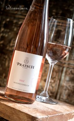 Pratsch Rose- Made from several varieties of organically-grown estate grapes, this Austrian rose is delicate and dry featuring aromas and flavors of wild strawberries, peach, and pear, backed by crisp, refreshing acidity.