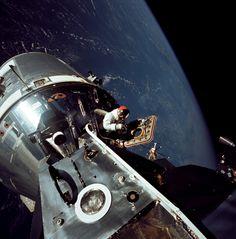 Apollo 9 Lunar Module - March 6, 1969 [4034x4096]