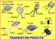 Transistors Pinouts