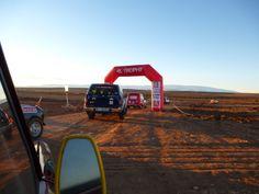 Equipage 4L Trophy donne des ailes 2015 au Maroc, étape