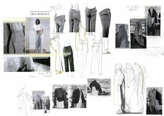 Fashion Sketchbook - fashion sketches & design development; fashion student portfolio // Lauren Hunt
