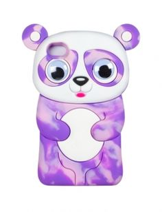 Silicone Swirl Panda Tech Case | Girls Cases & More Tech Accessories | Shop Justice