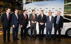 Visita a la factoría Ford-Almussafes, acompañando al Presidente del Gobierno, Mariano Rajoy