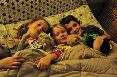 cosy town - sleepover with Fin & Bay