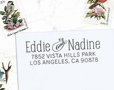 A self-inking return address stamp! For reals. We used it on our STDs and thank yous, and at ~$30, this may have had the best return on...