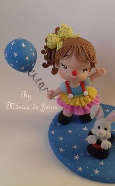 Clay Dolls, Biscuits, Christmas Ornaments, Disney Princess, Holiday Decor, Disney Characters, Birthday, Party, Crochet Roses