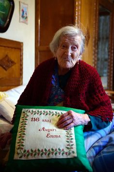 PRINCEPALACE: Emma Morano, world's oldest person and egg fanatic