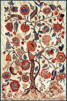 Embroidered tree of life, India