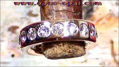 Damen Memory Brilliant Goldring 18 k mit 18 Diamanten 1,98 ct