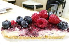 Cheesecake GLUTENFREE con Philadelphia e cioccolato bianco