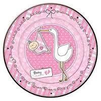 Resultado de imagen para tag cha de bebe rosa